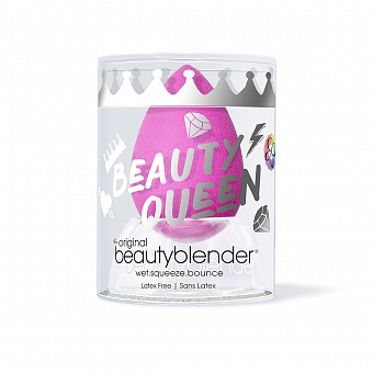 Спонж beautyblender original с подставкой crystal nest